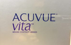 Neue Monatslinse Acuvue Vita mit top Benetzung und höchstem UV-Schutz